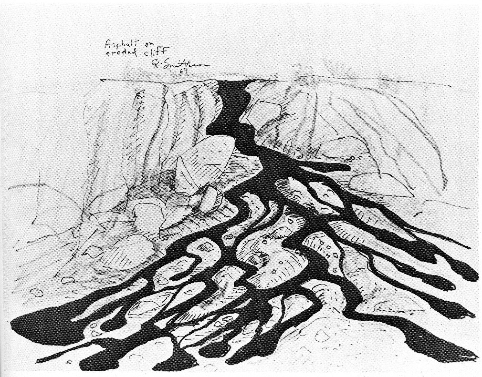 Collages Robert Smithson Unearthed Drawings Writings